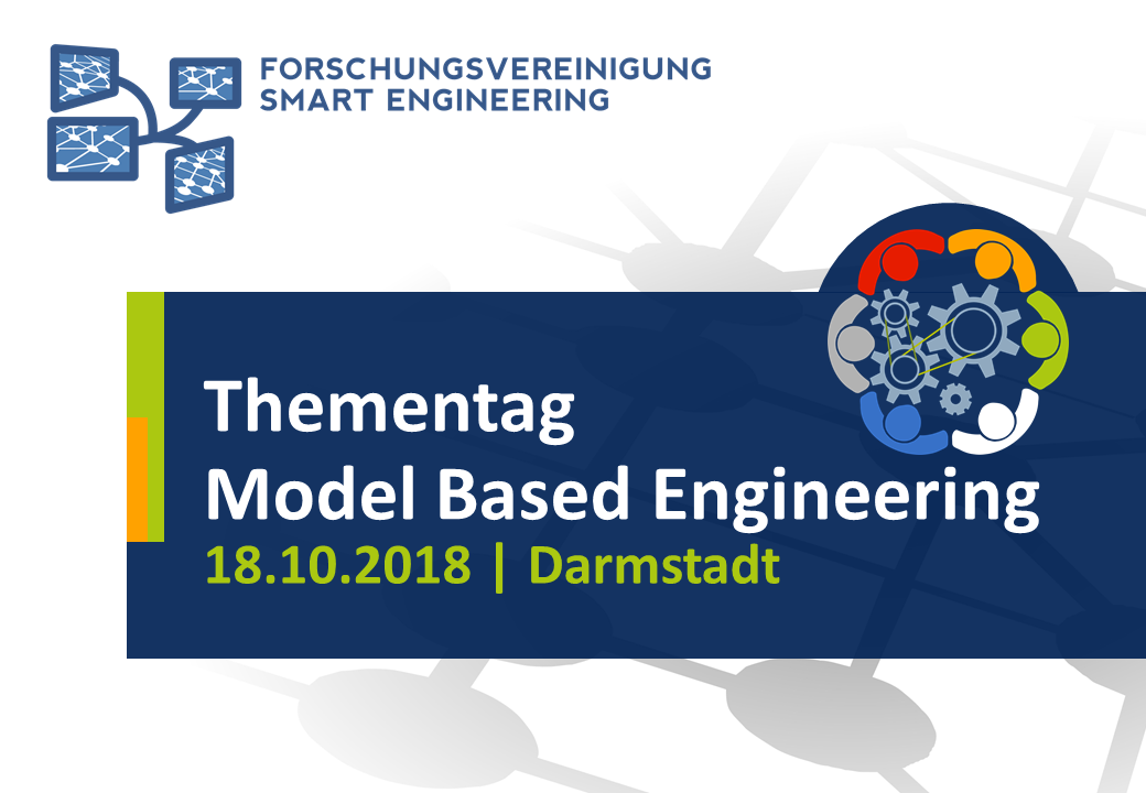 Thementag Model Based Engineering am 18. Oktober 2018